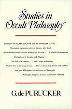 Studies in Occult Philosophy by G. de Purucker (1973, Paperback, Reprint)