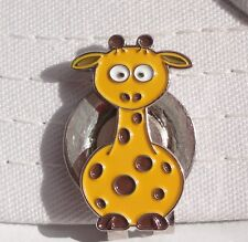 Giraffe Golf Ball Marker - W/Bonus Magnetic Hat Clip.