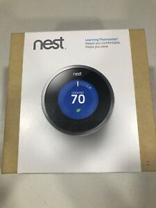 Nest 1st Generation Learning Silver Programmable Thermostat