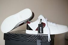 JUST CAVALLI Chaussures Blanches Taille UK 10.5 EU 45