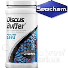 Discus Buffer Lower pH/GH Hardness Aquarium Water Conditioner Seachem 250gm