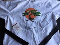 Ralph Macchio Karate Kid Autographed Jacket