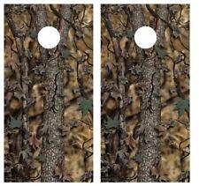 Real Tree Camo Cornhole Board Wraps Free Squeegee #2904
