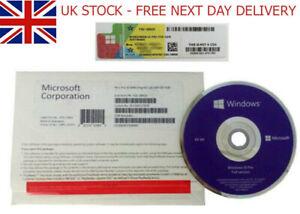 BRANDNEW SEALED WINDOWS 10 64 BIT DVD PRODUCT KEY FULL VERSION - UK STOCK