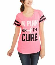 Susan G Komen Women's Tee Shirt In Pink For The Cure Size Medium 8-10 NEW