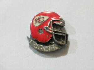 Kansas City Chiefs Football Pin,  Vintage Helmet Lapel Pin , (**)