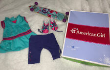 American Girl MyAG Skateboarding Set Complete Outfit Retired With Box