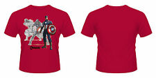 Avengers Age Of Ultron T-Shirt Captain America Draw Size M PHD Merchandise The