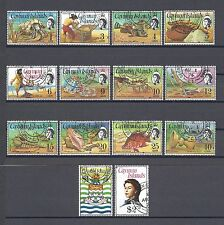 CAYMAN ISLANDS 1974 SG 346/59 USED Cat £42