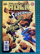 INCREDIBLE HULK VS SUPERMAN 1 MARVEL DC COMIC STERN STEVE RUDE MILGROM 1999 NM