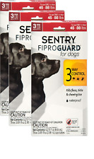 SENTRY Fiproguard for Dogs, Flea and Tick Prevention Dog lbs 45-88 3 pack 436 []