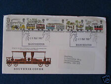 Souvenir Cover - Liverpool & Manchester Railway - Double Stamped - 19/5/80