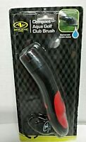 NEW Athletic Works Compact Aqua Golf Club Brush Dispenses Water For Cleaning!