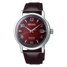 Seiko Presage Cocktail Negroni Red Dial Automatic 38.5 mm SS Watch - SRPE41J1