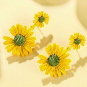 Charm Pearl Crystal Ear Stud Earrings Drop Dangle Women Wedding Jewelry Gift New