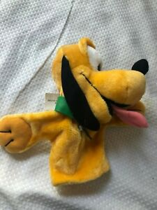 Disney Pluto Hand Puppet by Applause NWT Home school gift