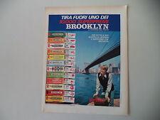 advertising Pubblicità 1972 CHEWING GUM GOMME BROOKLYN PERFETTI