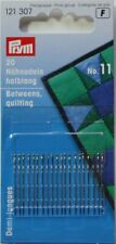 Prym Quilting Betweens Sewing Needles Size No. 11 Pack of 20 (121307)
