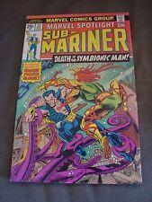 Sub-Mariner / Marvel Spotlight #27 FN 6.0 Condition Marvel Comic Book 1976