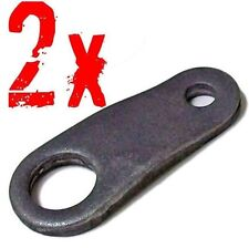 "Go Kart Steering Pitman Arms Set of 2 for 5/8"" Shaft, Cart Parts Tie Rod Hole"