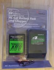 6V 1350mAh - 4 Hour! Rechargeable RC Car Battery Pack + Charger New! - Free Ship
