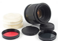 VOLNA 9 F/2.8 50mm SLR m42 MACRO LENS STAR BOKEH + TUBES + FILTER MINT