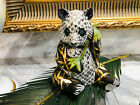 """HEREND PANDA PLATINUM FISHNET FIGURINE,5,75""""high,FIRST piece from 150,LIMITED"""