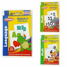 Playskool FLASHCARDS Choose from Multiplication, Addition, Alphabet or set of 3