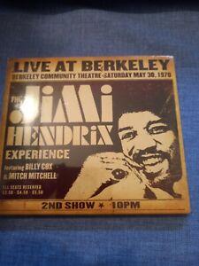 JIMI HENDRIX - LIVE AT BERKELEY 1970.  CD NEW SEALED DIGIPACK EDITION