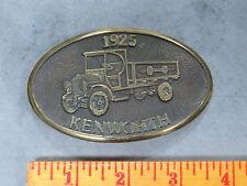 1925 KENWORTH Semi Truck Brass Belt Buckle & Ford Model T Car Buckle LOT of 2