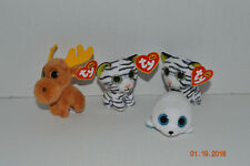 Ty Beanie Boos~McDonalds~Chocolate~Seamore~2 Blizz~GlitterEyes~No Heart Tag