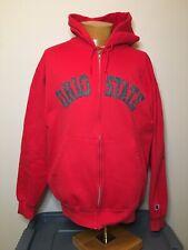 Vintage Ohio State Buckeyes Embroidered Full Zip Jacket Men's Large