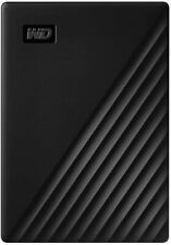 WD 2TB My Passport Portable External Hard Drive, Black - WDBYVG0020BBK
