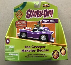 NKOK 2012 Scooby-Doo The Creeper Monster Hearse, New Old Stock, Lights & Sounds