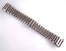 27 mm NOS Nike Red and Satin Metal Watch Band