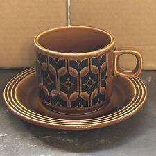 More details for beautiful vintage hornsea heirloom cup & saucer [see description] (b6)
