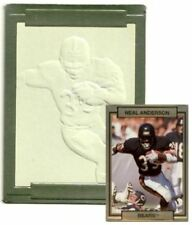 1990 ACTION PACKED FOOTBALL NEAL ANDERSON ERROR BLANK CARD