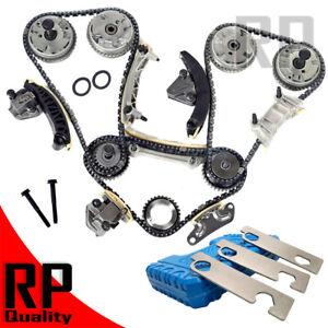 For Chevy GMC Buick Cadillac Pontiac VVT Gear Timing Chain kit Tool 3.6 3.0 2.8