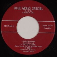 RUSTY YORK, JIMMIE SKINNER: Knoxville Girl 45 EP Bluegrass OHIO Blue Grass NM-