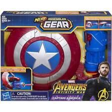 Nerf Assembler Gear Marvel Avengers Infinity War Captain America Blaster Gun