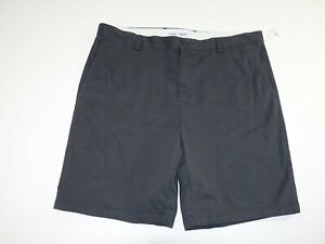 Old Navy Men's Ultimate Slim Chino Shorts Size 42 NWT Charcoal Gray Flat Front
