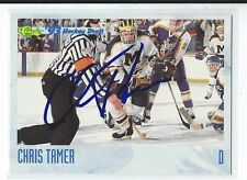 Chris Tamer Signed 1993 Classic Hockey Draft Card #83