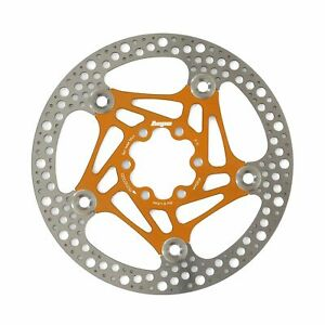 Hope Technology Road Bike Floating 6-Bolt 160mm Disc Brake Rotor - Orange