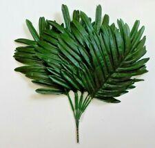 "15"" Green Palm Leaf (12 Picks) Plant Home Office Kitchen Wedding Flower Decor US"
