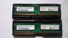2 barrettes mémoire Crucial DDR2 1 Go (2 x 1 Go) PC2-5300
