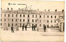 DIJON FRENCH Military BARRACKS Entrance Guard Soldiers Post Vintage PC 1912