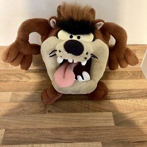 "Vintage Looney Tunes Taz Tazmanian Devil Plush 1994 15"" Stuffed Animal Toy"