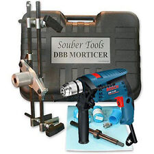 SOUBER MORTICE LOCK FITTING JIG DBB Jig 1 + Bosch 13RE Hammer Drill 240v