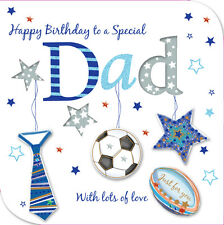Special Dad Happy Birthday Greeting Card By Talking Pictures Cards