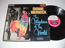 Dionne Warwick: The Windows Of The World LP - French - Disques Vogue CINT-40040
